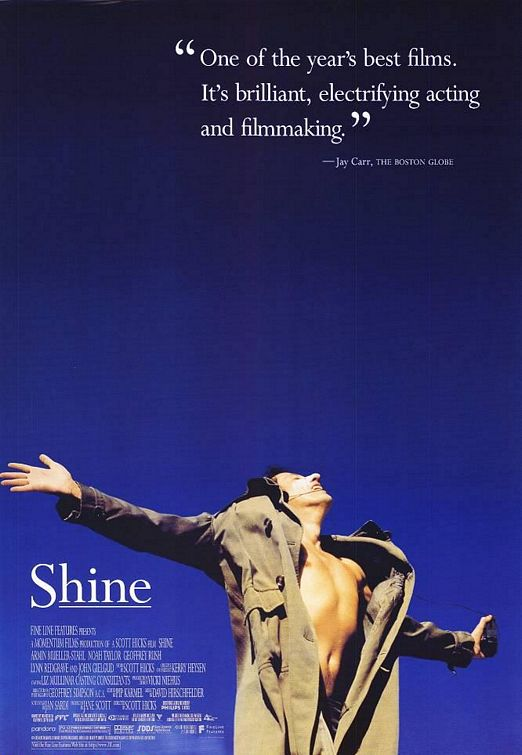 shine by scott hicks essay With scott hicks, john gielgud, david the experience of directing shine with scott hicks search for sculpting the movie: the experience of directing shine.